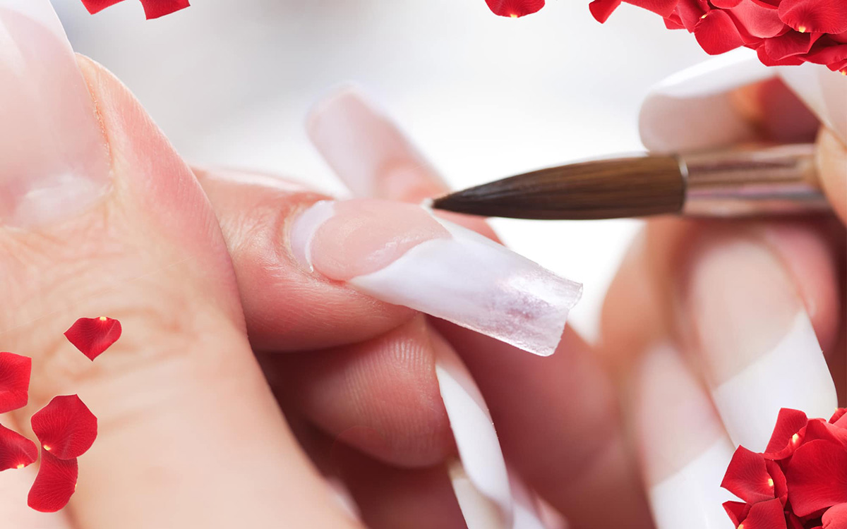 acrylic-nails-04 – Violet Nails Design – Professional Nail Care ...
